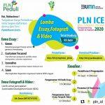 LOMBA ESSAY, FOTOGRAFI & VIDEO BERSAMA PLN ICE 2020